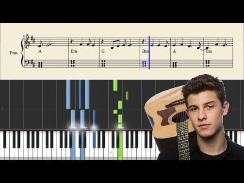 Shawn Mendes - Mercy - Piano Tutorial + SHEETS