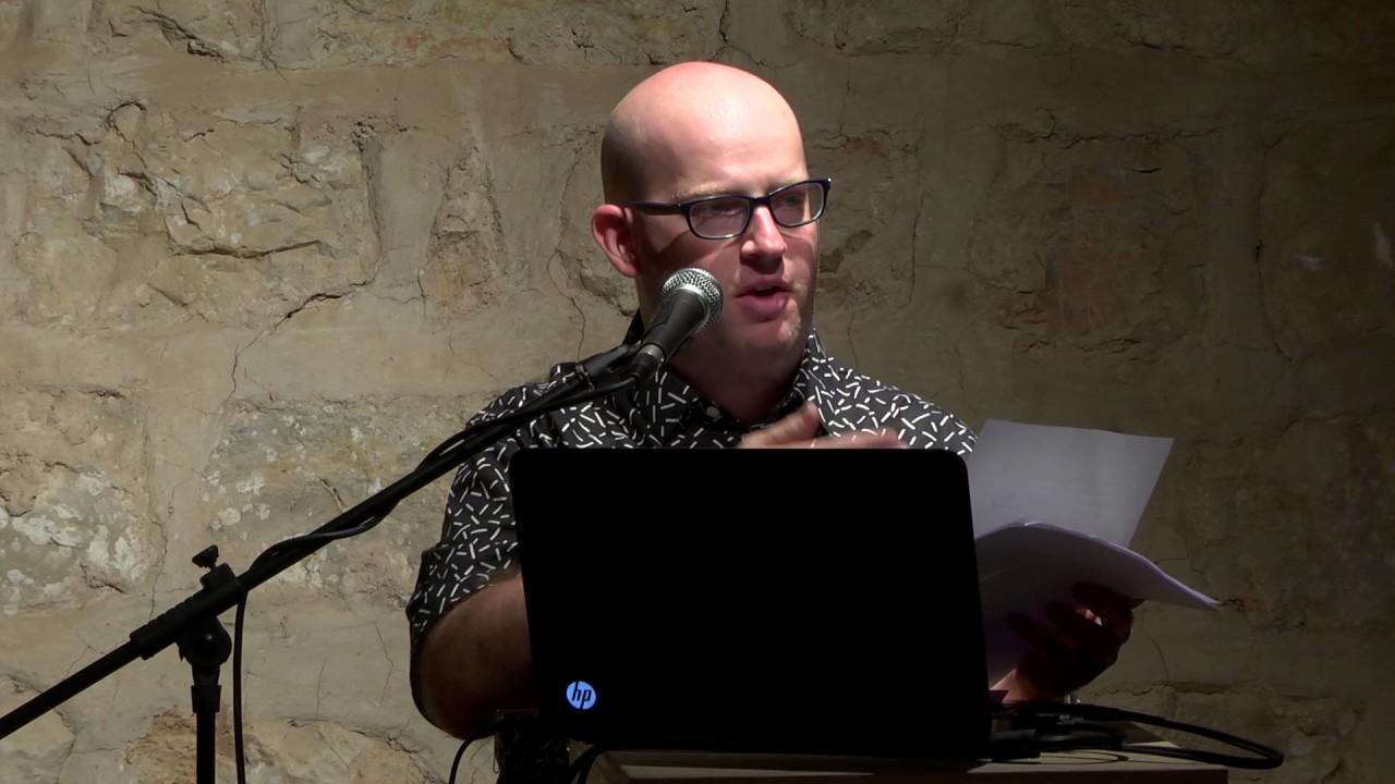 עמרי גרינברג - כנס ירושלים לאמנות #1 בנושא חתימה (2016) - YouTube