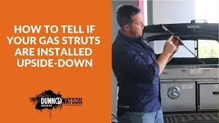How To Tell If Your Gas Struts Are Installed Upside Down