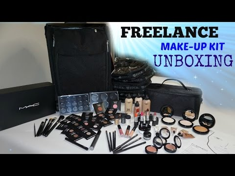 Freelance Makeup Kit Unboxing (MAC Student Kit)