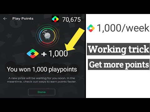 How To Earn Unlimited Playpoints With Weekly Prize|| Earn 1000/week. New Trick