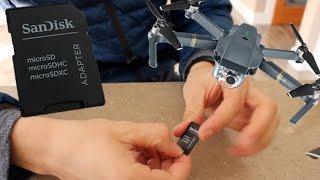 DJI Mavic Pro | How to format SD card while in Mavic Pro