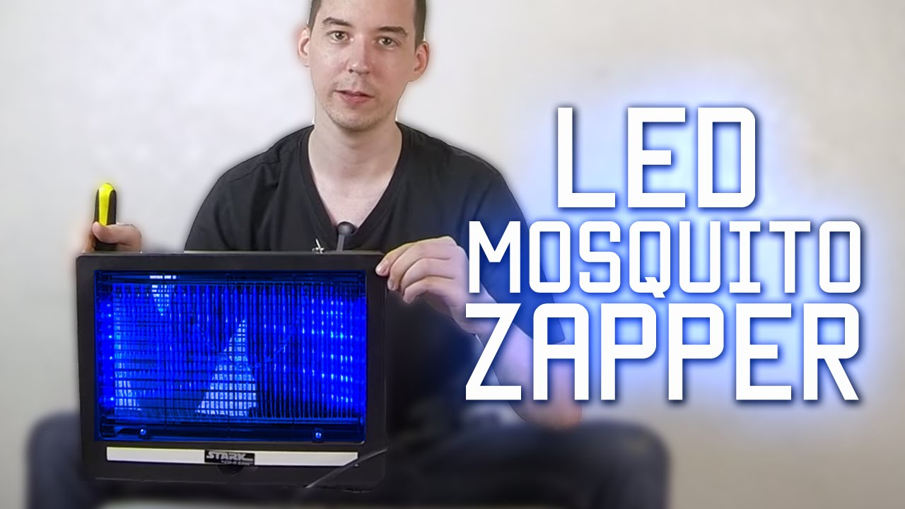 Led Mosquito Zapper From Cdrking Youtube