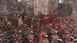 НАСТОЯЩАЯ РЕЗНЯ! Битва за Альтдорф! 4521 vs 9241[Орки против Империи] - Total War Warhamer II