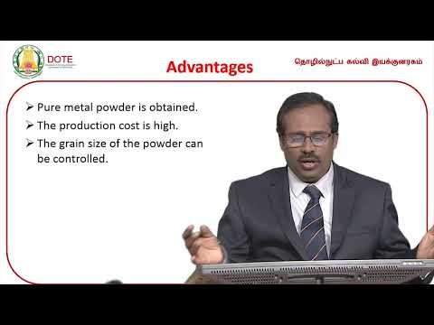Unit 3 Lecture 9 Powder Metallurgy