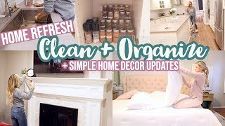 *NEW* CLEAN WITH ME 2020 // ORGANIZE, DEEP CLEAN, AND HOME REFRESH // TIFFANI BEASTON HOMEMAKING