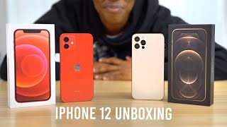 Gold iPhone 12 Pro & 12 Unboxing + MagSafe Accessories