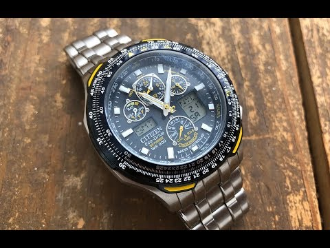 The Citizen SkyHawk A-T Wristwatch: The Full Nick Shabazz Review