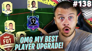 FIFA 20 I GOT MY BEST PLAYER UPGRADE for FUT CHAMPIONS! THIS IS A NEW META CARD!
