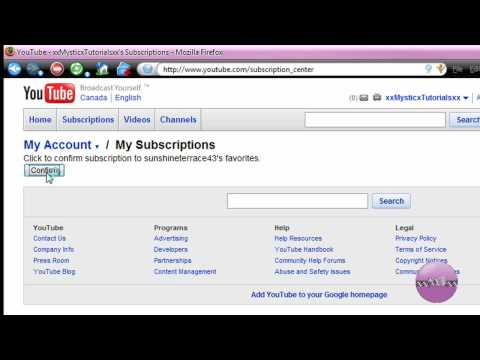 How To Subscribe And View Someone's Private Favorite Videos On Youtube **HD**