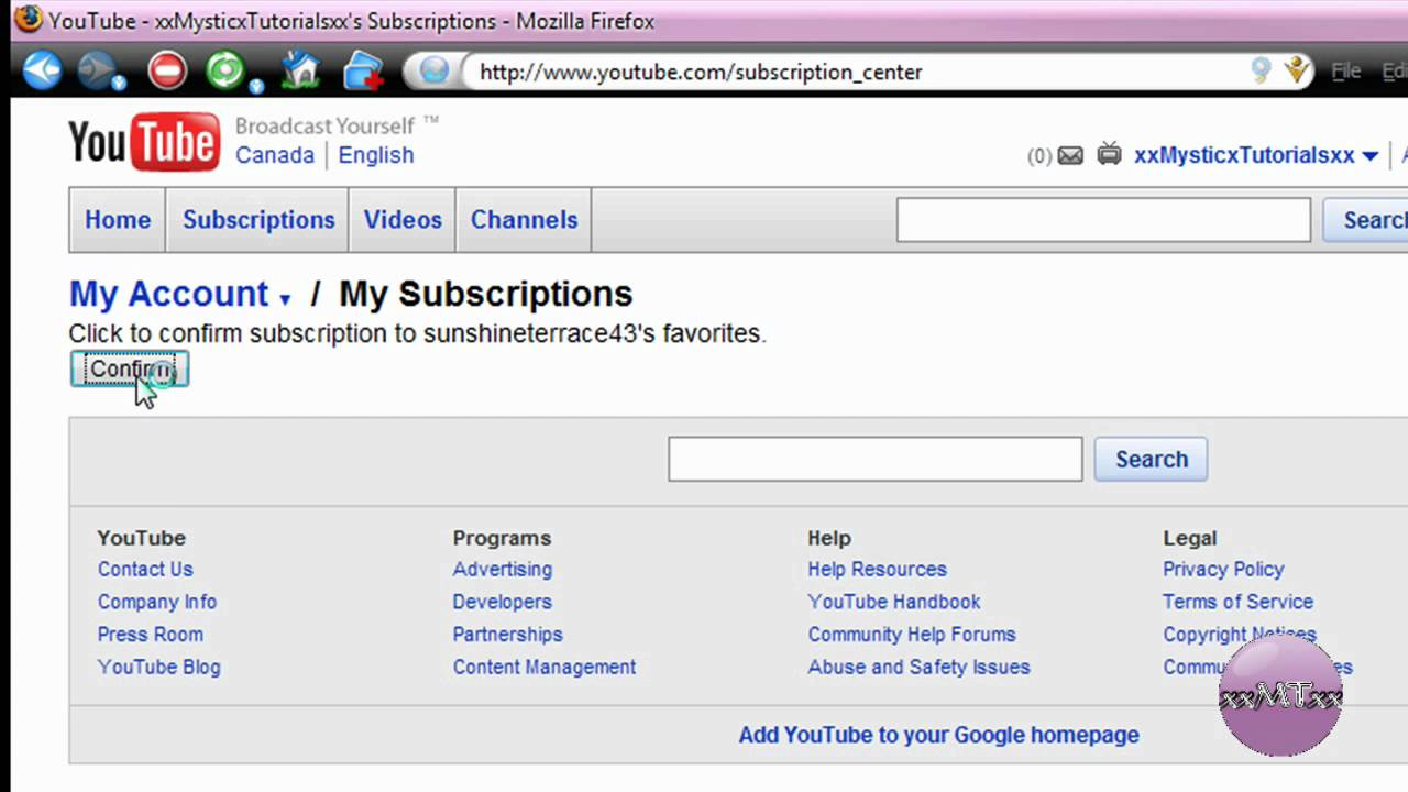 how to add a youtube video to favorites