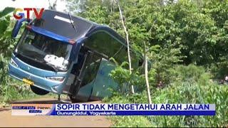 Ikuti Arahan Google Maps, Bus Pariwisata Tersasar dan Terperosok ke Sawah - BIP 20/12