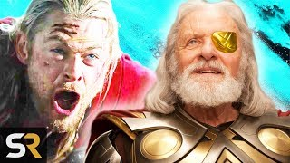 Thor: Ragnarok Revealed The Real Reason Odin Stripped Thor Of His Powers