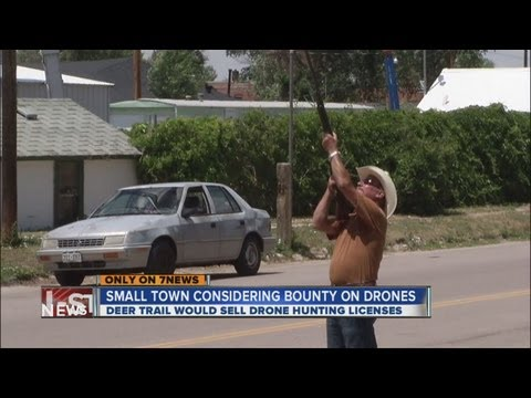 Deer Trail Eyes Drone Hunting Bounties