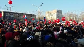 Митинг Навального в Новокузнецке 9 декабря 2017 года.