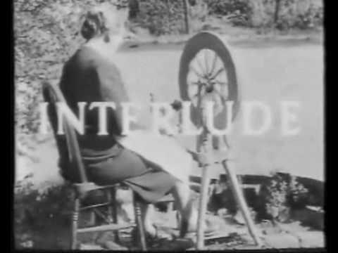 Spinning Wheel Interlude  BBC 1950's