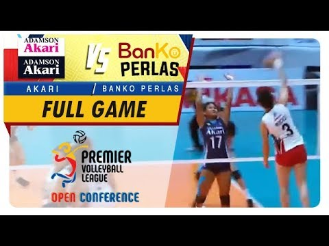 PVL OC 2018: BanKo-Perlas vs. Adamson-Akari   Full Game   2nd Set   November 4, 2018