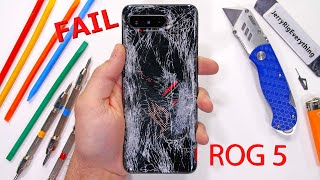 The ROG Phone 5 has a Problem - Durability Test Fail!