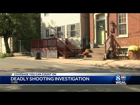 York police searching for suspectinvolved in deadly shooting