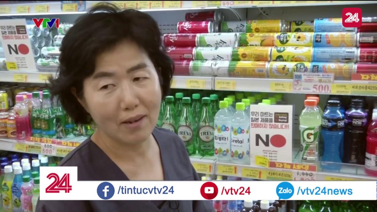 Làn sóng tẩy chay hàng Nhật tại Hàn Quốc