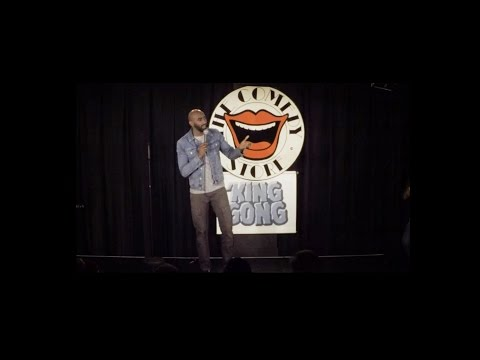 Reuben Christian at the Comedy Store, Gong Show - 2016