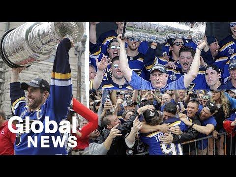 St. Louis Blues Stanley Cup parade 🏒🥅🎵🍾