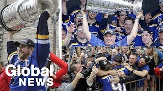 St. Louis Blues Stanley Cup parade 🏒🥅🎵🍾 | LIVE