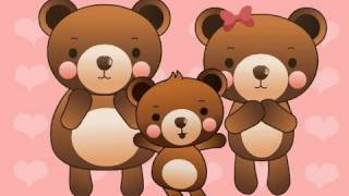 Three Bears | Family Sing Along - Muffin Songs