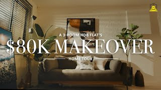 Welcome To Aiken's Bachelor Pad! | 3 Room Flat Makeover