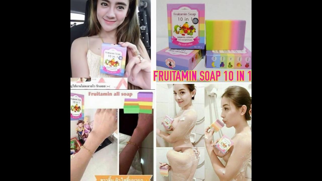 Jual Fruitamin Soap Di Takokak 0896 2542 0686 Youtube 10 In 1 Frutamin Sabun