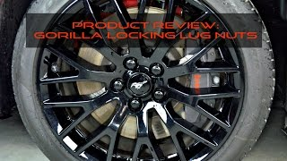 Product Review: Gorilla Locking Lug Nuts