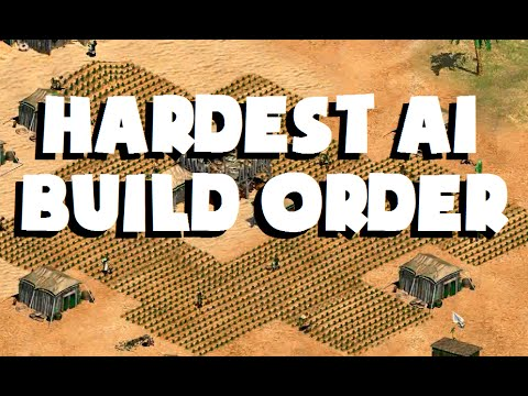 What is the Hardest AI's Build Order?