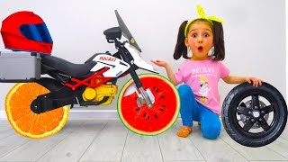 Ride on Toy Sportbike & Play with toys