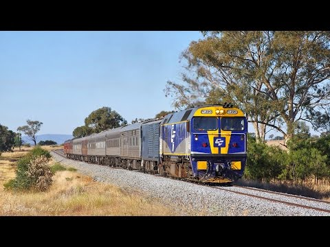 Trains around Southern New South Wales : April 2016