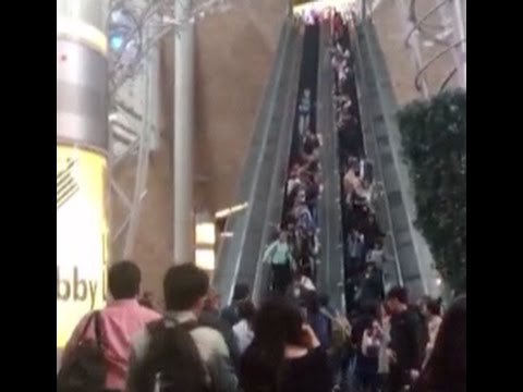 At Least 18 Injured In Escalator Accident At Hong Kong Shopping Mall