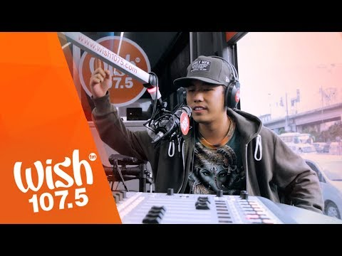 """Shanti Dope performs """"Materyal"""" LIVE on Wish 107.5 Bus"""