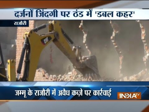 JK: Demolition drive now moves to Rajouri district, nearly 34 acres of land cleared