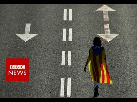 What happened to Catalonia? One year on from the referendum - BBC News