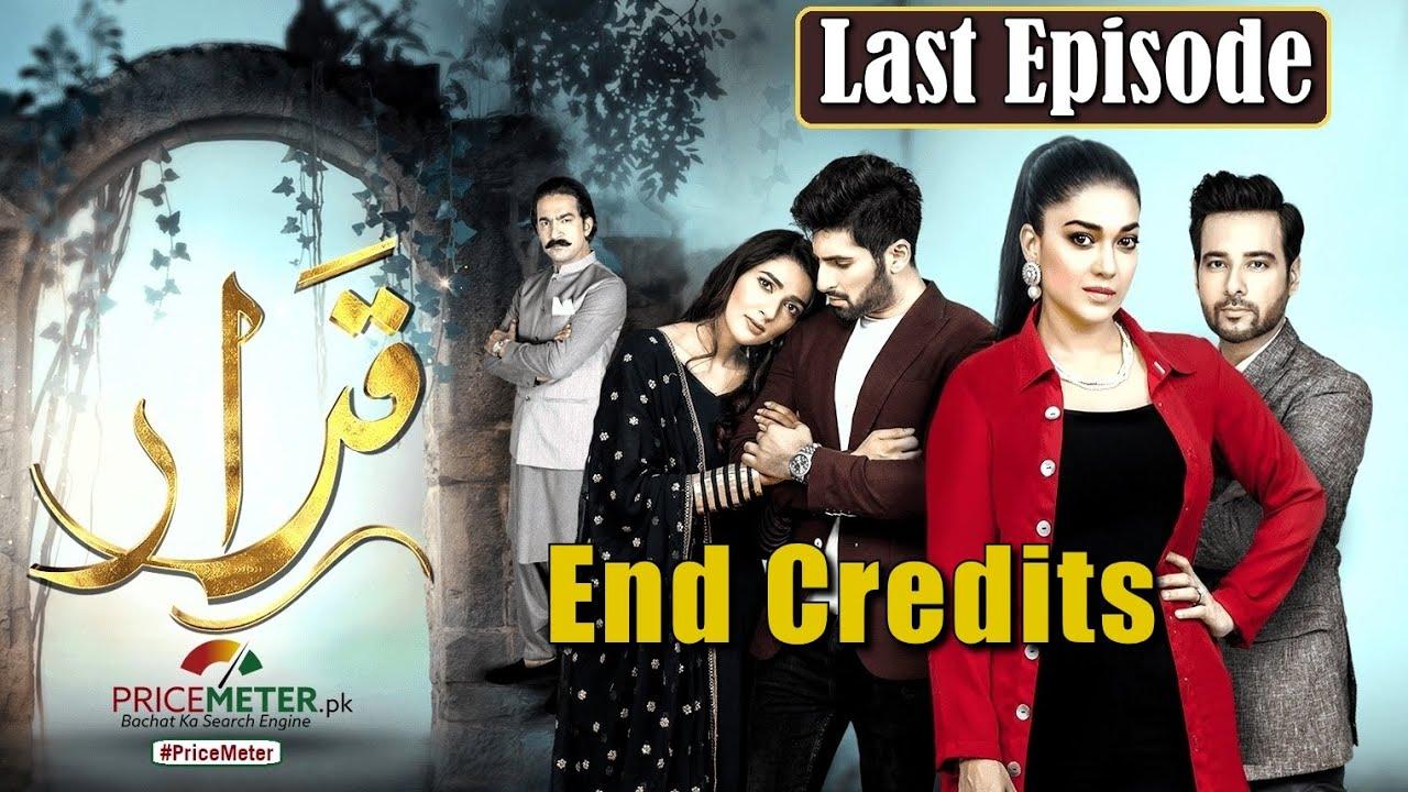 "Qarar | Last Episode End Credits | Digitally Powered by ""Price Meter"" | HUM TV Drama"