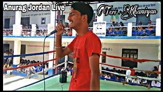 Teri Khamiyan Anurag Jordan Punjabi Singer Live Jaani Latest Performance 2019