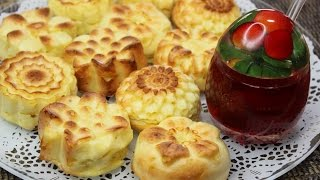 Farmer cheese cakes/Russian baked syrniki/Сырники в духовке