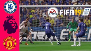 FIFA 19 - Chelsea vs Manchester United | Premier League 2018-19