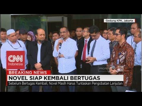 FULL - KPK Sambut Novel Baswedan Kembali ke Tanah Air