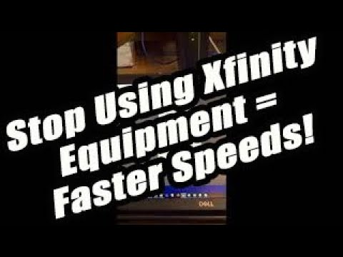 Why You Should Stop Using Xfinity/Comcast Equipment! Don't Rent, Buy Your Own, Cut Your Cable!