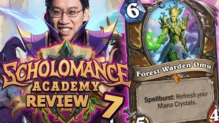 The Return of Combostone? - Scholomance Academy Review #7 | Hearthstone