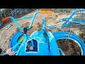 - MAX SPEED SNOW BMX CRASH IN WATERPARK!