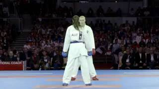 Karate Stars are causing a sensation in final day of 2016 Karate World Championships