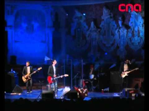 Els Pets played at the Palau de la Música in Barcelona
