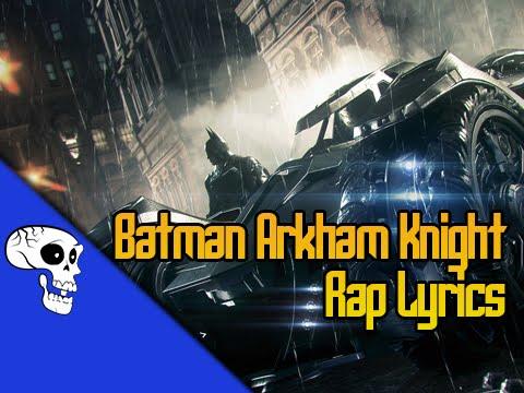 "Batman Arkham Knight Rap LYRIC VIDEO by JT Music - "" Say Goodbye to Batman"""