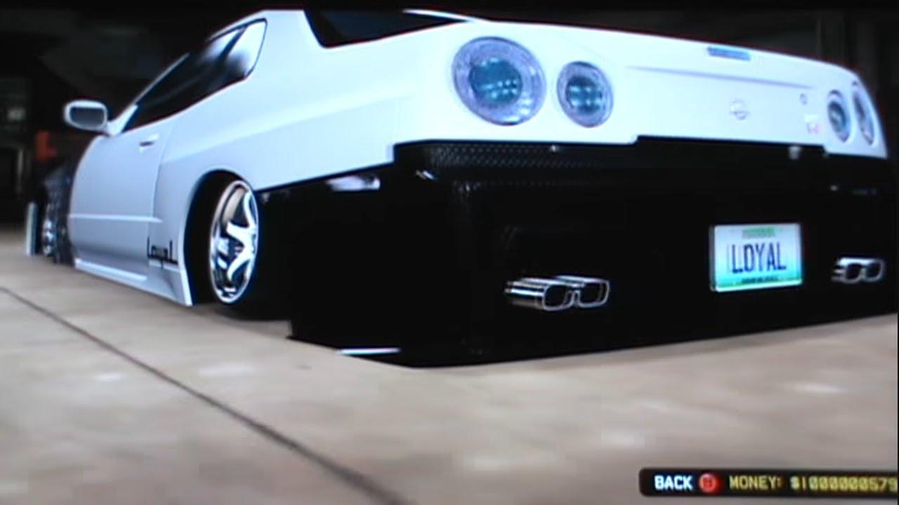 Midnight Club Los Angeles Best Custom Cars